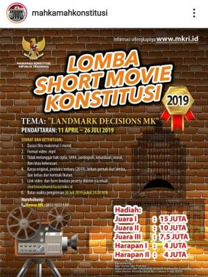 Lomba Short Movie Konstitusi